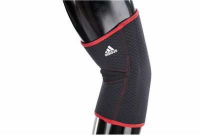 Adidas Elbow Support - L/XL Elbow Support (XL, Black, Red)
