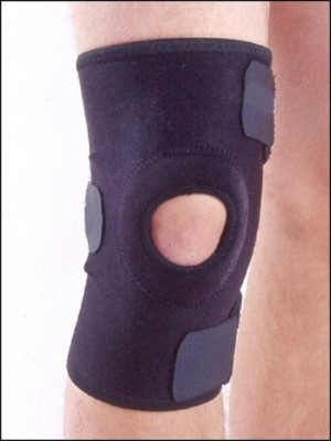 Asfit A2 Knee Support (Free Size, Black)