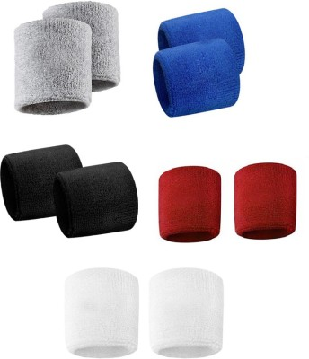 Verceys vs7multiBands Wrist Support (Free Size, Grey, Blue, Black, Red, White)