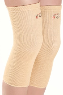 Tynor Knee Cap Pair Knee, Calf & Thigh Support (XXL, Beige)