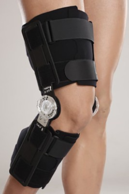 Tynor R.O.M Knee Brace Knee, Calf & Thigh Support (Free Size, Grey)