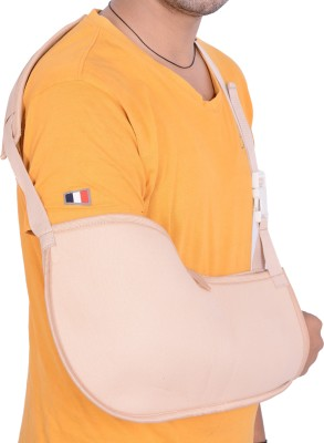 Rap Pouch Arm Sling Hand Support (M, Beige)