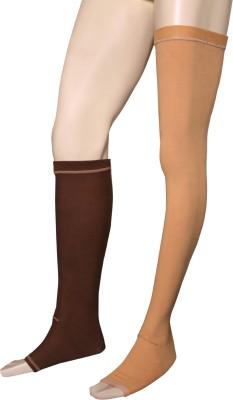 Applikon Stockingsrk4949 Full Leg Crus Support (S, Brown)