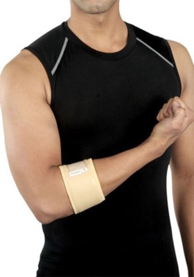 Mgrm 0306-Tennis Elbow Support Elbow Support (XL, Beige, Blue)