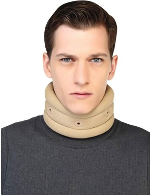 Flamingo Cervical Collar Neck Support (S, Beige)