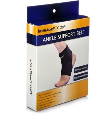 Healthbuddy Belt Ankle Support (L, Black)