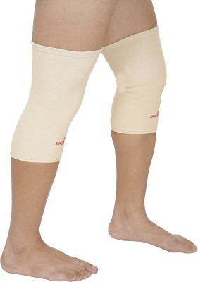 SportSoul Premium Compression Knee Support (L, Beige)