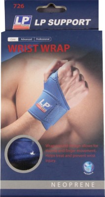 LP Wrap 726 Wrist Support (Free Size, Blue)