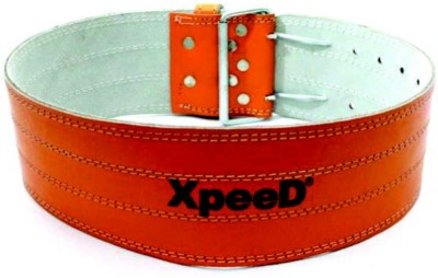 Xpeed Powerlifting Belt Back & Abdomen Support (L, Red)