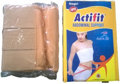 Actifit Adminal Belt Abdomen Support (M, Pink)