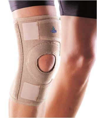 Oppo Adjustable Stabilizer Knee, Calf & Thigh Support (Free Size, Beige)