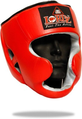Lordz Competition Guard Head Support (S, Red)