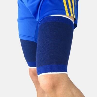 Gruvi Enterprises Sports Slimmer Shaper Trimmer Knee Support (Free Size, Blue)