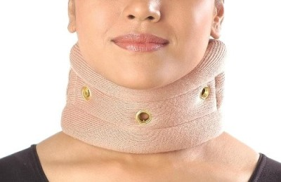 Vissco Cervical Collar without Chin Regular Neck Support (L, Beige)