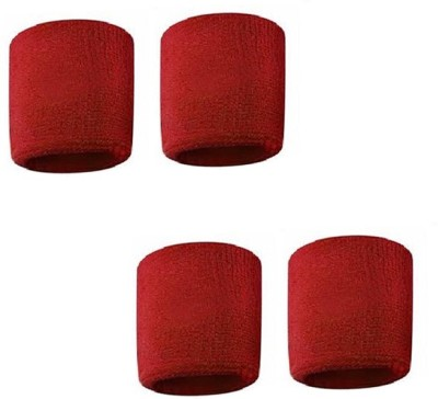 Verceys SportsBand Wrist Support (Free Size, Red)