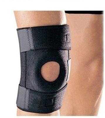 ACTIFIT WRAP CAP Knee Support (L, Black)