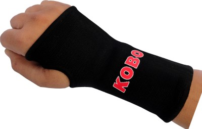 Kobo Knitted Wrist Support (M, Black)