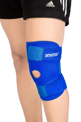 Orthotech Open Patella Knee Support Knee Support (M, Blue)
