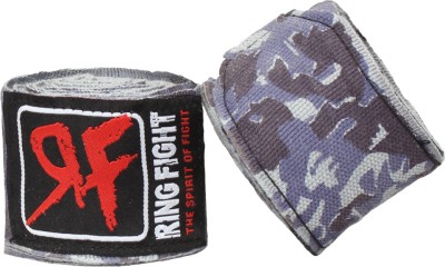Ring Fight Hand Wrap Camo Contendor Wrist Support (XL, Grey)