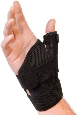 Mueller Thumb Stabilizer Thumb Support (Free Size, Black)