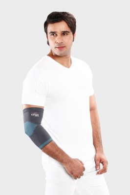 Tynor Elbow Elastic Arm Flexible Protector Hand Support (XL, Grey)