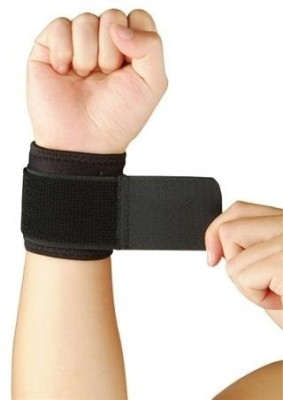 Vkare Binder-Neoprene Wrist Support (Free Size, Black)