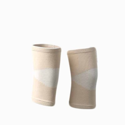 Vedic Deals Bamboo Charcoal Knee Support (Free Size, Beige)