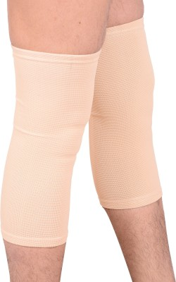RAP KNEE SUPPORTER Knee, Calf & Thigh Support (L, Beige)