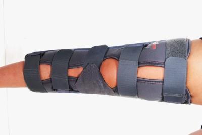 Ache Cure Knee Brace Long Type Knee Support (M, Beige)