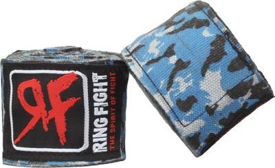Ring Fight Hand Wrap Camo Contendor Wrist Support (XL, Blue)
