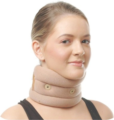 NET Cervical Collar Soft Eyelet, Size Xtra Large Neck Support (XL, Brown)