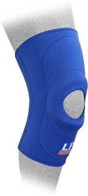 LP 708 Open Patella Standard Knee Support (XXL, Blue)