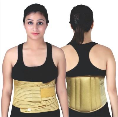 Modern Medical Aids Lumbo Sacral Belt Back Support (S, Beige)