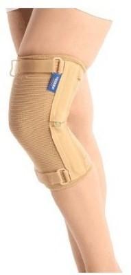 Vissco Hinged Cap Knee Support (M, Beige)