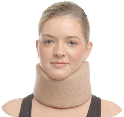 NET Cervical Collar Full Foam, Size Large Neck Support (L, Brown)