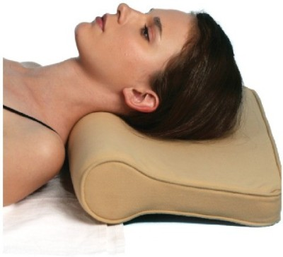Turion Cervical Pillow (Free Size, Beige)