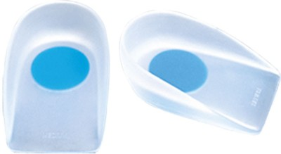 Amron Xamax Heel Cup Premium Foot Support (S, White)