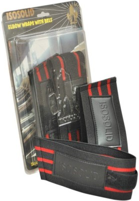 Iso Solid Belt Wrist Support (Free Size, Black)