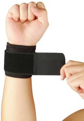 Nivia Fitness Wrist Support (Free Size, Black)