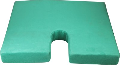 Relief Orthopaedic Bench Comfort Seat Back Support (Free Size, Green)