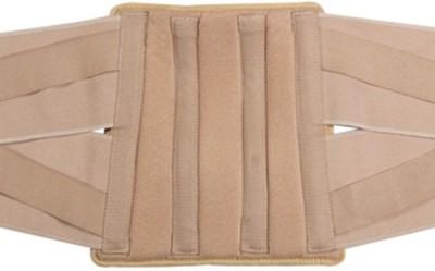 Mgrm 0511-Lumbo Sacral Belt Back Support (XL, Beige, Blue)