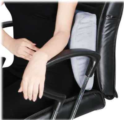 D4 Rehabilitation Orthopaedic Back Rest Regular Back Support (Free Size, Blue)