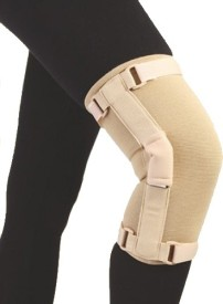 FLAMINGO Medium Knee Support (M, Beige)