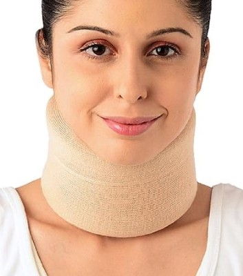 Vissco Cervical Collar Soft Neck Support (XL, Beige)