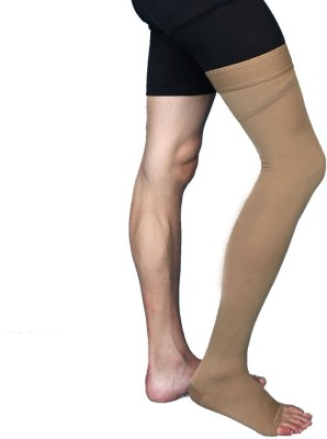 Aktive Support 593AK Knee, Calf & Thigh Support (M, Beige)