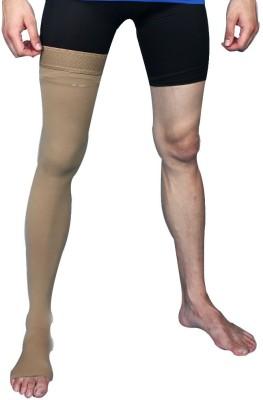 Aktive Support 593AK Knee, Calf & Thigh Support (L, Beige)
