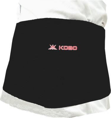 Kobo Neoprene Waist Adjustable Support Waist Support (Free Size, Black)
