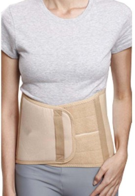 Neutral Supports Abdominal Support 9 Back & Abdomen Support (L, Beige)