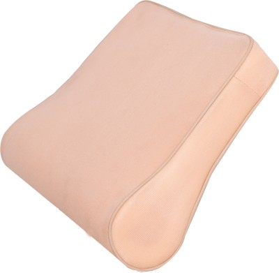 RAP CERVICAL PILLOW Neck Support (Free Size, Beige)