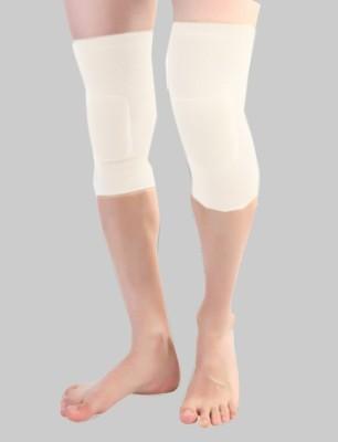 Flamingo Healthcare Flamingo Gel Knee Cushion - White (Pair) Knee, Calf & Thigh Support (M, White)